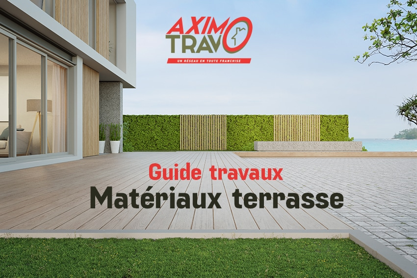 Choisir matériaux terrasse
