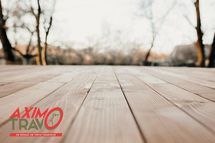 Matériaux terrasse bois
