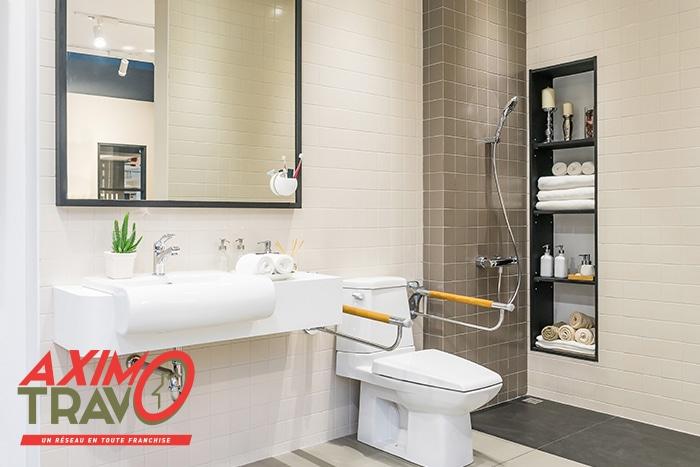 Salle de bain pour plus d'autonomie