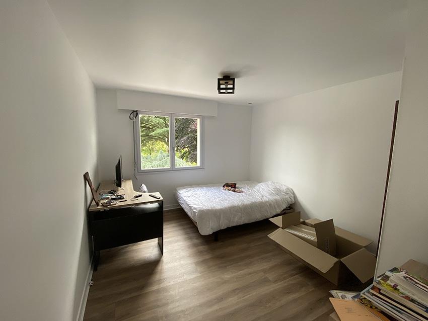 Rénovation chambre à Poitiers