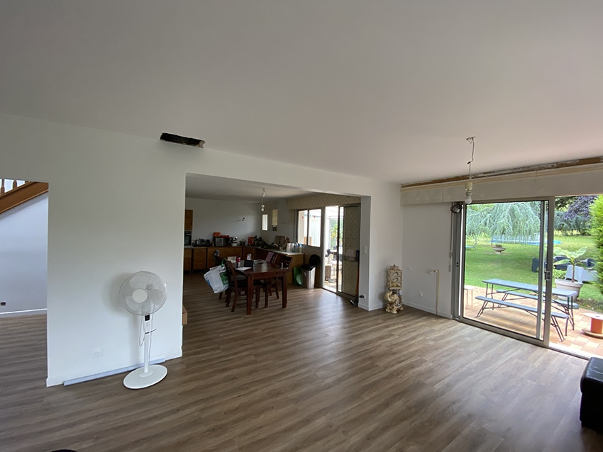 Rénovation d'une maison sur Poitiers